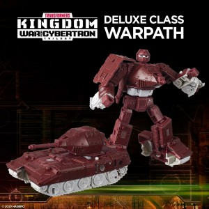Hasbro Transformers Kingdom 'War For Cybertron Trilogy' Deluxe Class Warpath