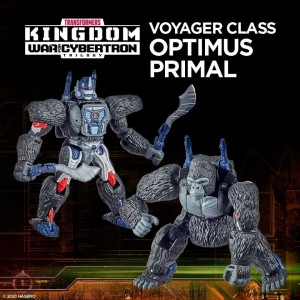 Hasbro Transformers Kingdom 'War For Cybertron Trilogy' Voyager Class Optimus Primal