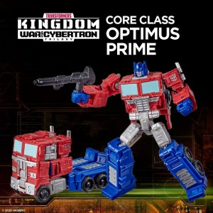 Hasbro Transformers Kingdom 'War For Cybertron Trilogy' Core Class Optimus Prime