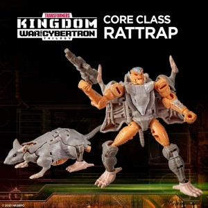 Hasbro Transformers Kingdom 'War For Cybertron Trilogy' Core Class Rattrap