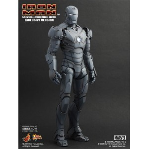 Hot Toys Movie Masterpiece MMS101 Iron Man 1 Iron Man MK-III Mark 3 Gunmetal