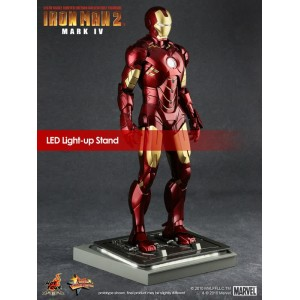 Hot Toys Movie Masterpiece MMS123 Iron Man 2 Iron Man MK-IV Mark 4