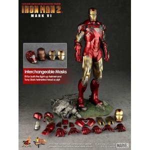 Hot Toys Movie Masterpiece MMS132 Iron Man 2 Iron Man MK-VI Mark 6