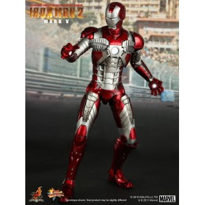 Hot Toys Movie Masterpiece MMS145 Iron Man 2 Iron Man MK-V Mark 5