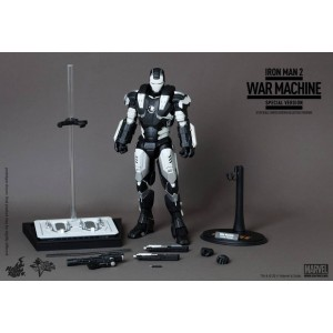 "Hot Toys Movie Masterpiece MMS166 Iron Man 2 War Machine ""Special Version""(Milk)"