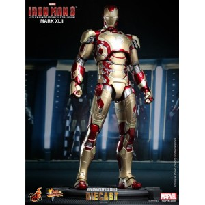 Hot Toys Movie Masterpiece MMS197-D02 Iron Man 3 Iron Man MK-XLII Mark 42 Die-Cast