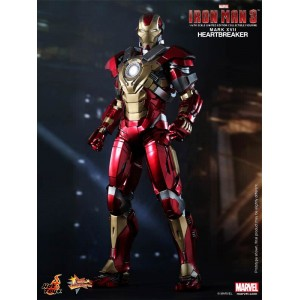 Hot Toys Movie Masterpiece MMS212 Iron Man 3 Iron Man MK-XVII Mark 17 Heartbreaker