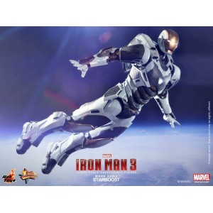 Hot Toys Movie Masterpiece MMS214 Iron Man 3 Iron Man MK-XXXIX Mark 39 Starboost