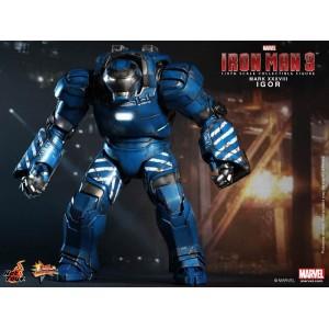 Hot Toys Movie Masterpiece MMS215 Iron Man 3 Iron Man MK-XXXVIII Mark 38 Igor