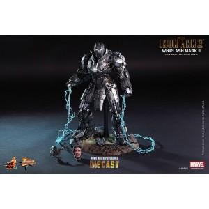 Hot Toys Movie Masterpiece MMS237-D06  Iron Man 2 Whiplash MK-II Mark 2 Die-cast