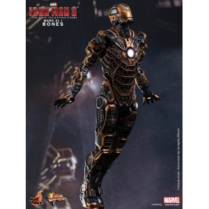 Hot Toys Movie Masterpiece MMS251 Iron Man 3 Iron Man MK-XVI Mark 16 Bones