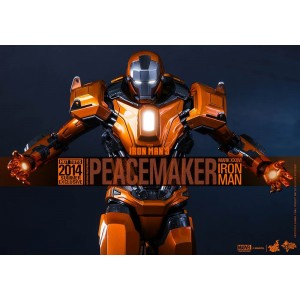 Hot Toys Movie Masterpiece MMS258 Iron Man 3 Iron Man MK-XXXVI Mark 36 Peacemaker