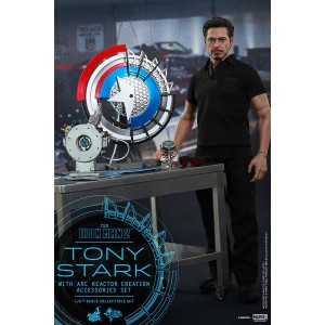 Hot Toys Movie Masterpiece MMS273 Iron Man 2 Tony Stark Arc Reactor