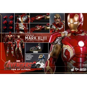 Hot Toys Movie Masterpiece MMS278-D09 Avengers 2 Age Of Ultron Iron Man MK-XXXXIII Mark 43 Die-cast