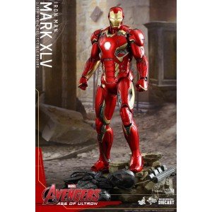 Hot Toys Movie Masterpiece MMS300-D11 Avengers 2 Age Of Ultron Iron Man MK-XXXXV Mark 45 Die-cast