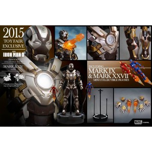 Hot Toys Movie Masterpiece MMS303 Iron Man 3 Iron Man MK-XXIV Mark 24 Tank