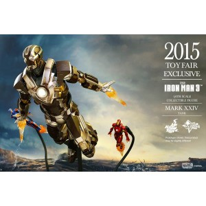 Hot Toys Movie Masterpiece MMS303 Iron Man 3 Iron Man MK-XXIV Mark 24 Tank