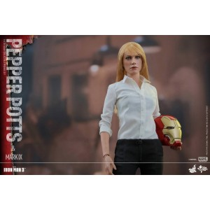 Hot Toys Movie Masterpiece MMS311 Iron Man 3 Iron Man MK-IX Mark 9 & Pepper Potts