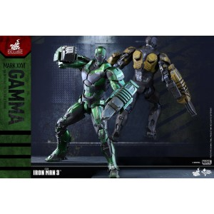 Hot Toys Movie Masterpiece MMS332 Iron Man 3 Iron Man MK-XXVI Mark 26 Gamma
