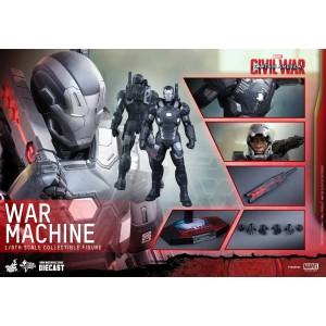 Hot Toys Movie Masterpiece MMS344-D15 Captain America 3 War Machine MK-III Mark 3 Die-Cast