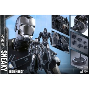 Hot Toys Movie Masterpiece MMS348 Iron Man 3 Iron Man MK-XV Mark 15 Sneaky