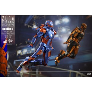 Hot Toys Movie Masterpiece MMS371 Iron Man 3 Iron Man MK-XXVII Mark 27 Disco