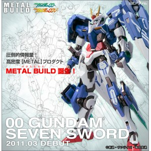 Metal Build Gundam 00 Seven Sword