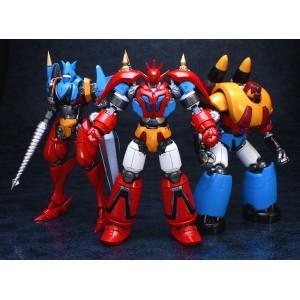 Fewture EXG-44/49/50 Getter Robot G Set: Getter Dragon/Liger/Poseidon + Get Machine + Double G Tomahawk