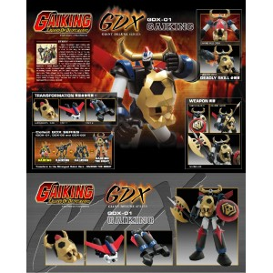 GDX-01 Gaiking + GDX-02 Riking + GX-03 Balking   Gaiking The Great