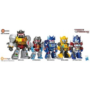 Kidslogic Kids Nation TF01 Transformers: Optimus Prime, Grimlock, Bumblebee, Soundwave Stascream