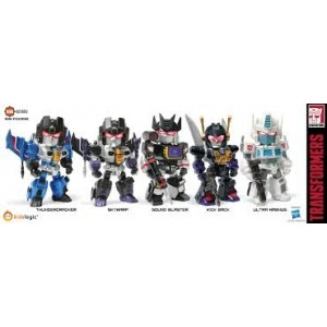 Kidslogic Kids Nation TF02 Transformers: Ultra Magnus, Soundblaster, Kickback, Thundercracker, Skywarp
