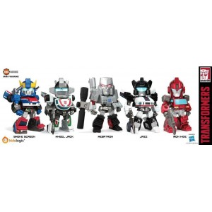 Kidslogic Kids Nation TF03 Transformers: Megatron, Jazz, Wheeljack, Ironhide, Smokescreen
