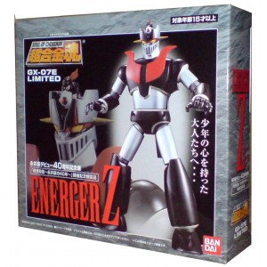 Bandai Soul Of chogokin GX-07E Energer Z Limited Mazinger Prototype