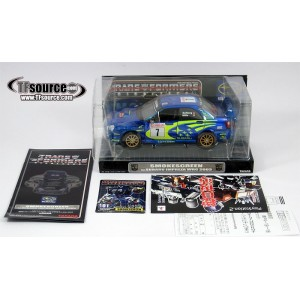 Takaratomy Transformers Binaltech BT-01 Smokescreen feat. Subaru Impreza WRC 2003(Usato)