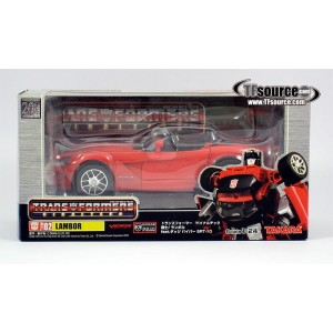 Takaratomy Transformers Binaltech BT-02 Lambor feat. Dodge Viper SRT-10(Usato)