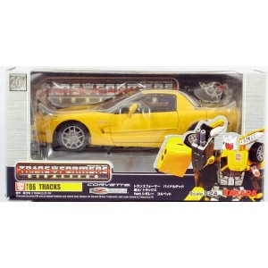 Takaratomy Transformers Binaltech BT-06 Tracks feat. Chevrolet Corvette Z06 (Usato)