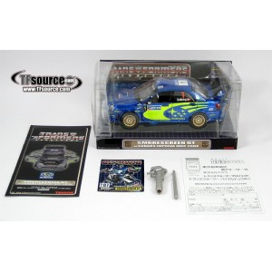 Takaratomy Transformers Binaltech BT-07 Smokescreen GT feat. Subaru Impreza WRC 2004 (Broken Window Box)
