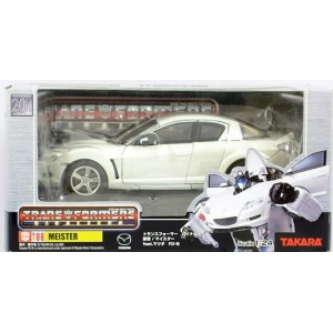 Takaratomy Transformers Binaltech BT-08 Meister feat. Mazda RX-8 (White)