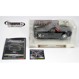Takaratomy Transformers Binaltech BT-11 Ravage feat. Chevrolet Corvette Z06 Convertible