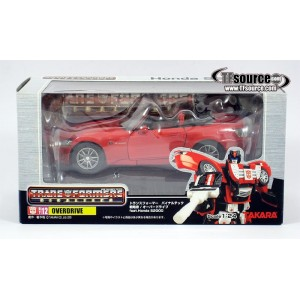 Takaratomy Transformers Binaltech BT-12 Overdrive feat. Honda S2000