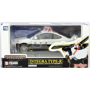 Takaratomy Transformers Binaltech BT-15 Prowl feat. Honda Integra Type-R