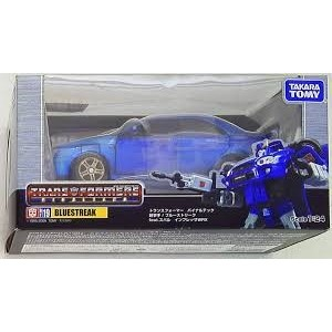 Takaratomy Transformers Binaltech BT-19 Bluestreak feat. Subaru Impreza WRX