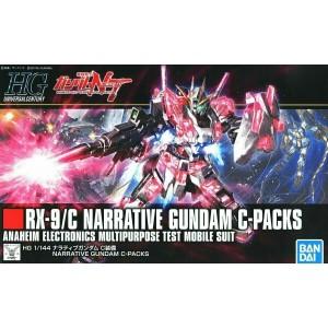 Bandai Gunpla High Grade HGUC 1/144 Gundam Narrative C Pack