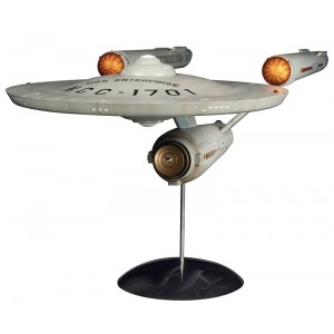 Polar Light Plamo 1/350 STAR TREK TOS USS ENTERPRISE PREBUILT