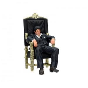 SD Toys Scarface Tony Montana On Chair PVC Figure