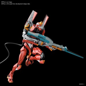 Bandai Plamo Real Grade RG 1/144 Neo Genesis Evangelion EVA-02 Mass Production Type