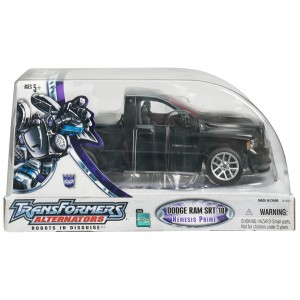 Takaratomy Transformers Binaltech BT-17 Black Convoy Aka Hasbro Alternators Nemesis Prime feat. Dodge Ram SRT-10