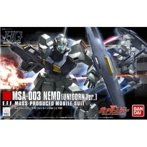 Bandai Gunpla High Grade HGUC 1/144 Nemo Unicorn Vers.