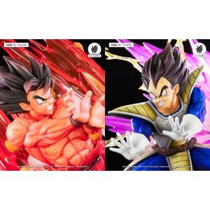 Tsume HQS Dragonball Z Goku Kaioh-Ken VS Vegeta Galick Gun 1/6