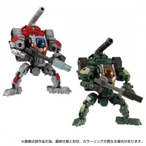 Takaratomy Diaclone Reboot DA-68 VERSERISER V MOVER No 3 SET (TTMALL Exclusive)
